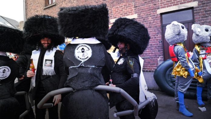 Anti-Semitic Belgium parade