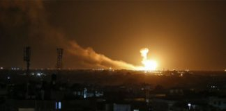 IDF Responds to Rockets Fired toward Israel from Gaza