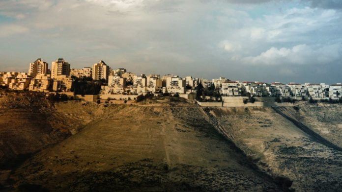 Maale Adumim settlement in the West Bank - E1