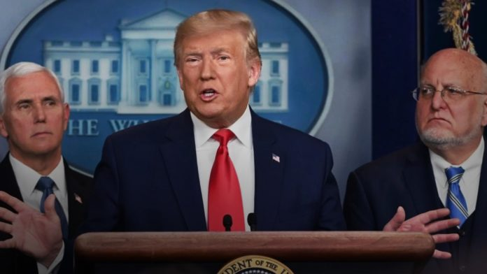 Trump - White house - coronavirus - travel restrictions