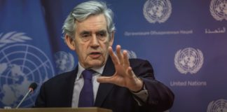 Gordon Brown Voices Support of One World Government