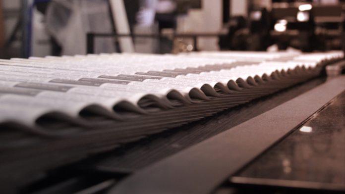 newspaper printing
