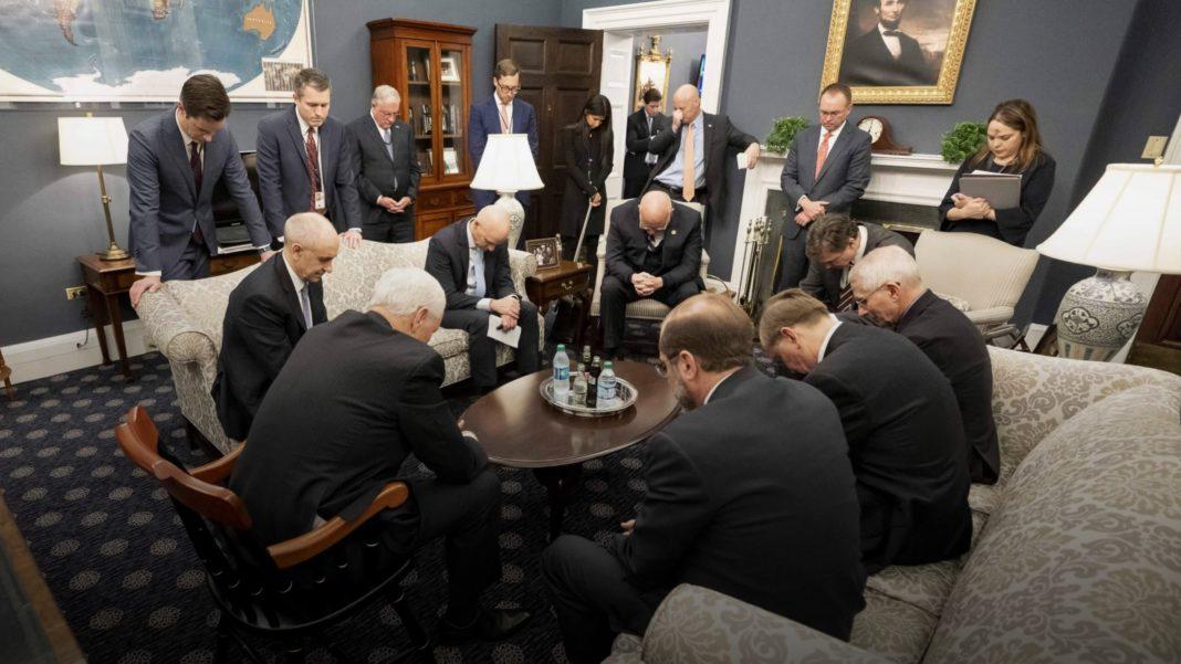Mike Pence - Coronavirus task force prayer