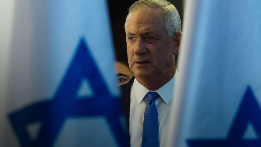 Benny Gantz - Blue and White
