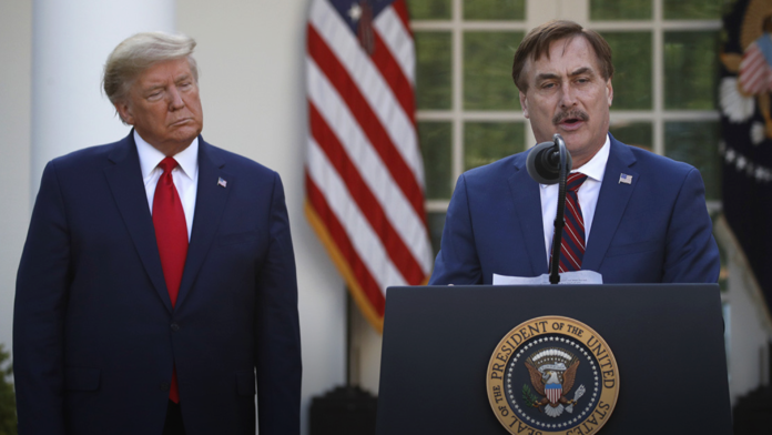 Mike Lindell - White House speech