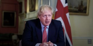 UK Prime Minister Boris Johnson