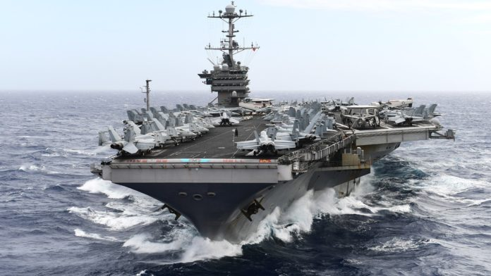 USS Harry S. Truman aircraft carrier