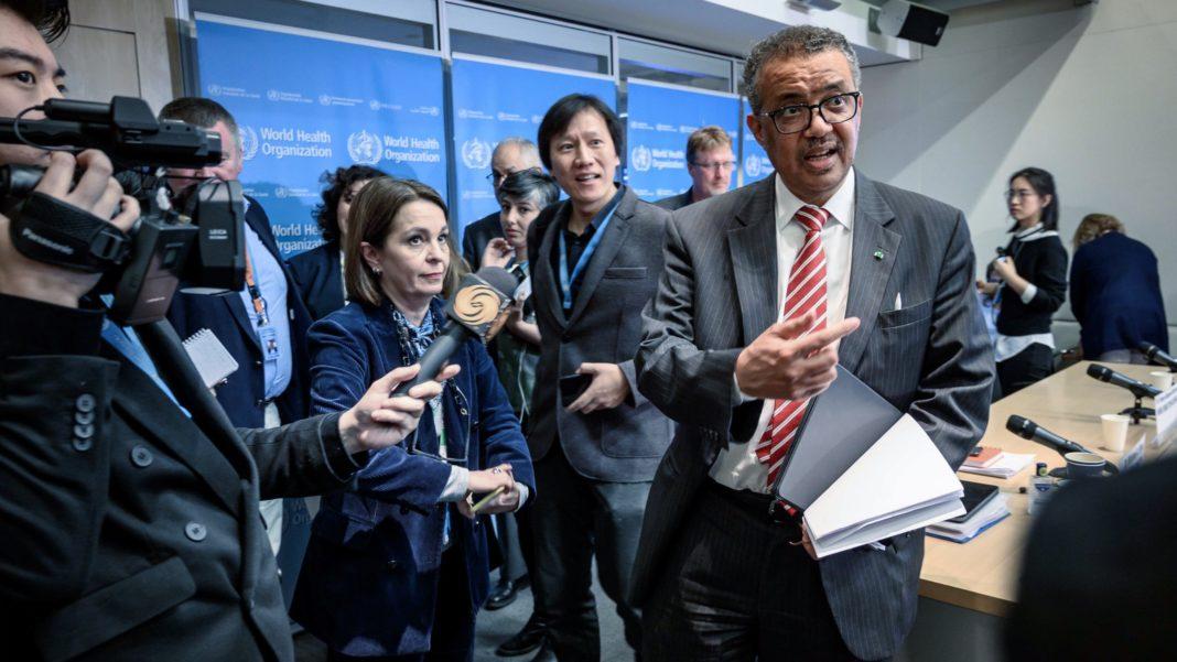 WHO - World Health Organization - Adhanom Ghebreyesus