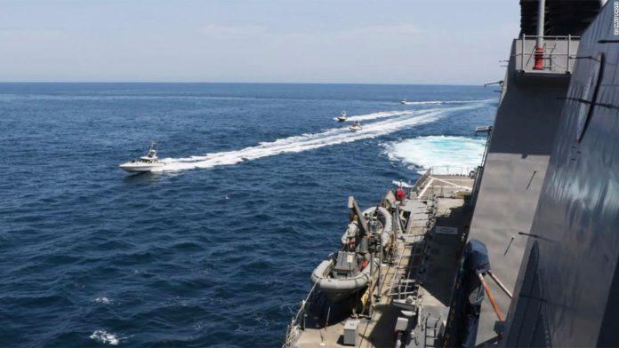 Iran IRGC Harasses US Navy Ships