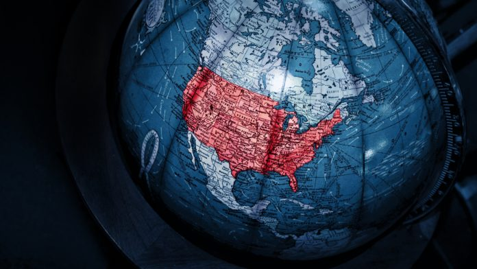Globe, America, United States, USA