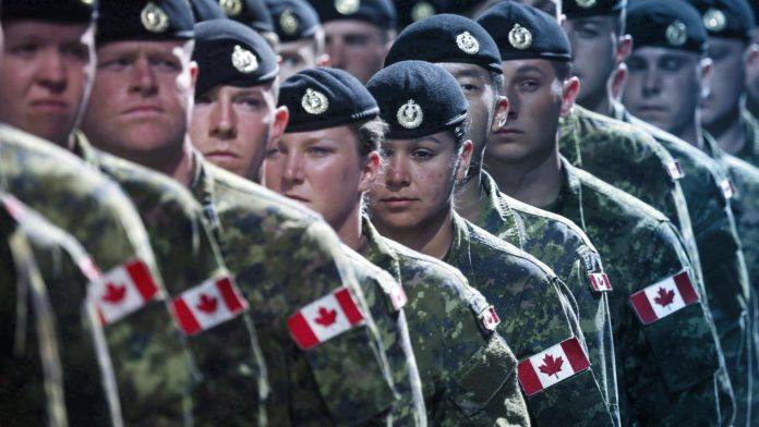 Canadian Military - gender-neutral
