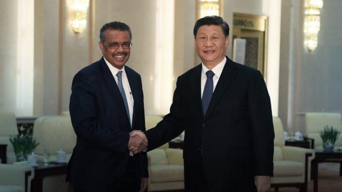 WHO, World Health organization, China, Xi jingping