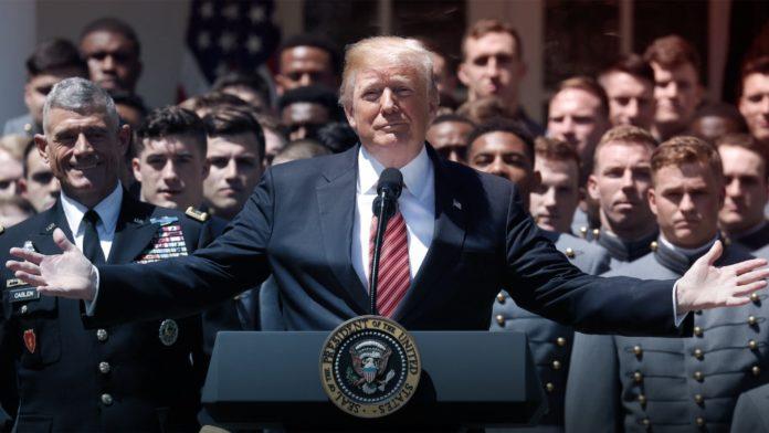 Donald Trump, West Point