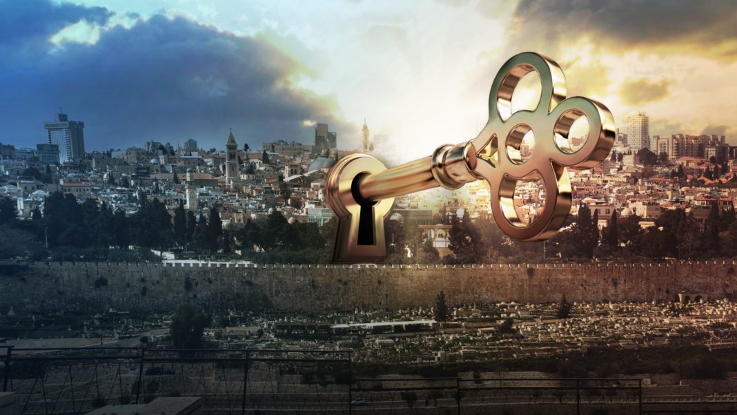 israel, Jerualem, key lock