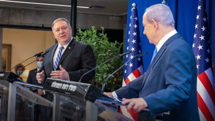 Mike Pompeo, Benjamin Netanyahu