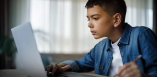 Child on the Computer