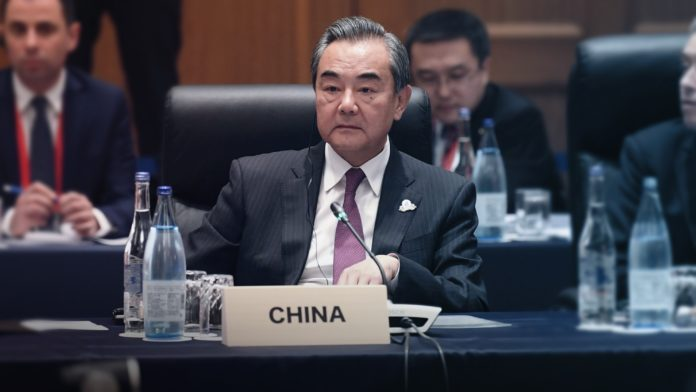 China's Foreign Minister Wang Yi - Globalization