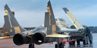 Russia MiG-29 fighter jets