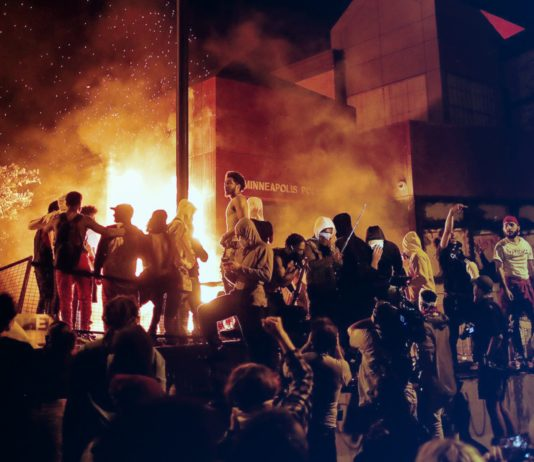 lawlessness, violent protests