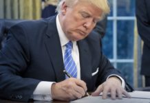 Donald Trump signs Religious Freedom Executive order