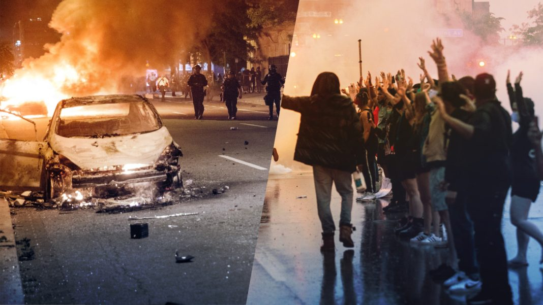 Rioting - Lawlessness - Country Divided