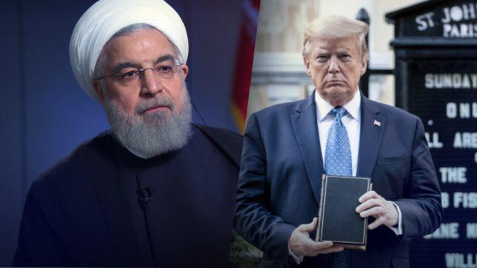 Rouhani, Donald Trump