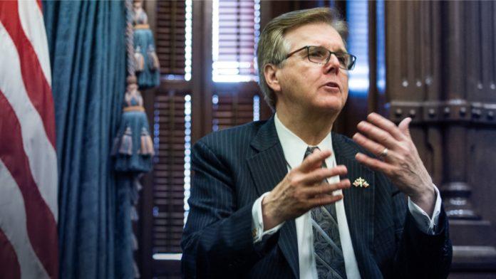 Texas Lt. Governor Dan Patrick