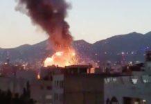 Explosion, Tehran, Iran