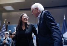 Alexandria Ocasio-Cortez (AOC) and Bernie Sanders