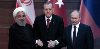 Russia Turkey Iran