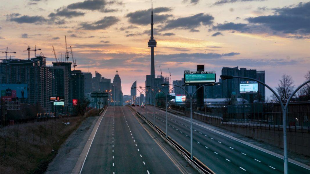 The Gardiner Expressway in Toronto
