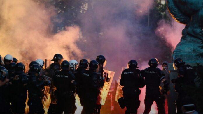 Serbia civil unrest