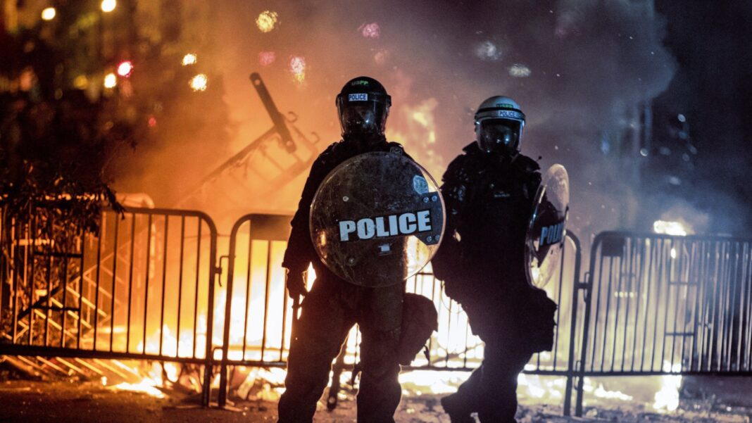 Lawlessness, Rioting, Police