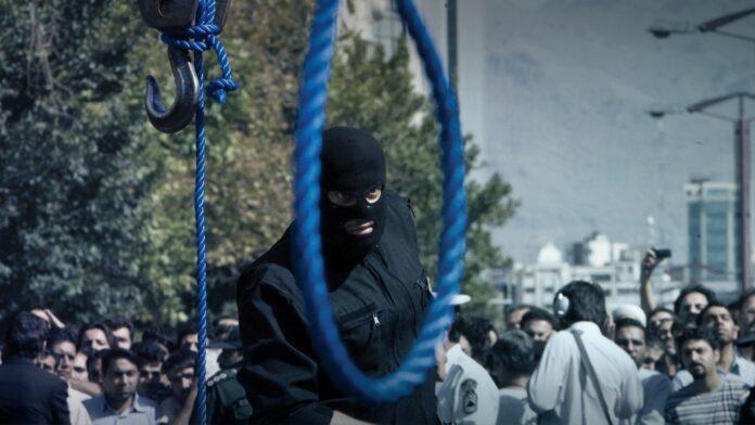 hanging Iran