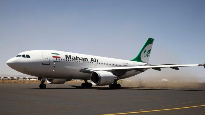 A Mahan Air Boeing 747-400