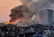 Explosion Beirut Lebanon