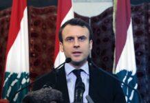 French President Emmanuel Macron, Lebanon