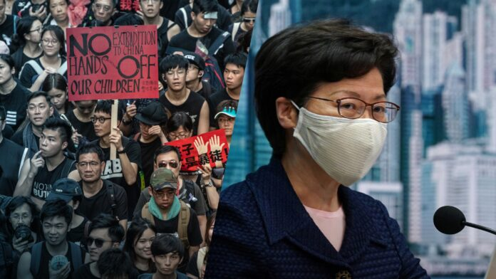 Trump administration sanctions Hong Kong Chief Executive Carrie Lam