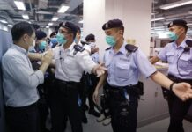 Hong Kong, Apple Daily Raid