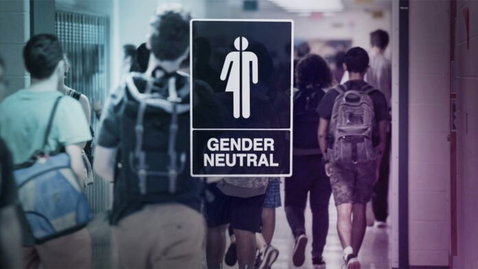 Transgender bathroom, School