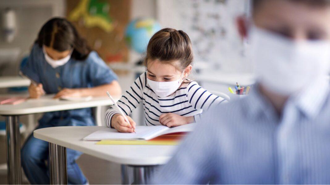 Children in Schools, masks