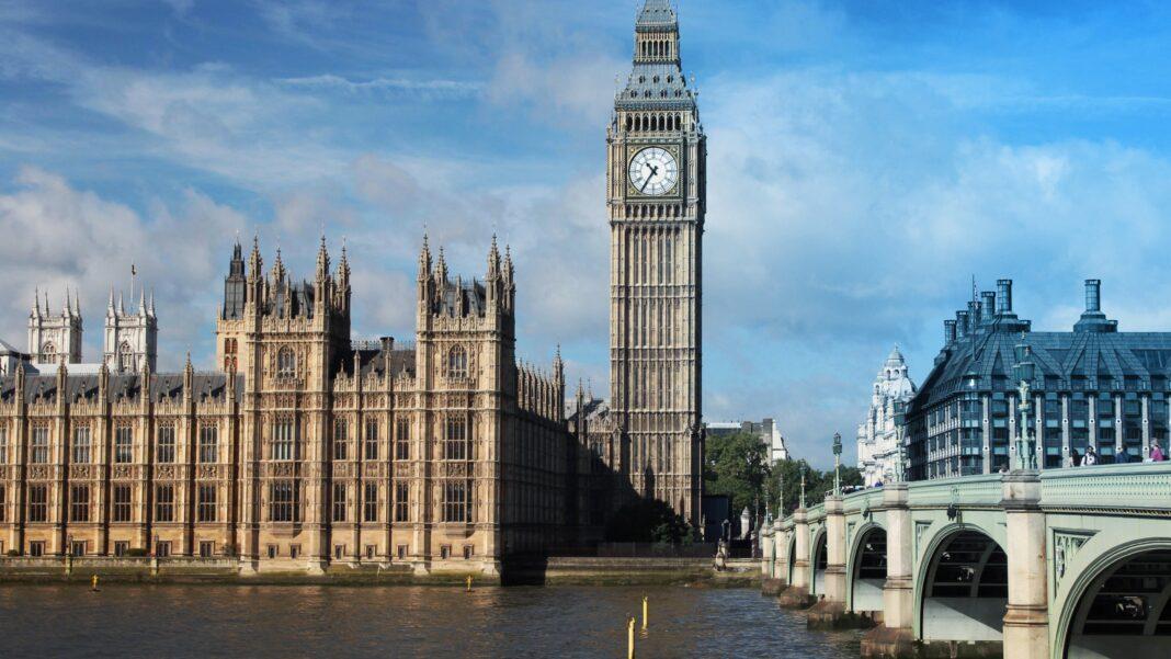 British parliament, London