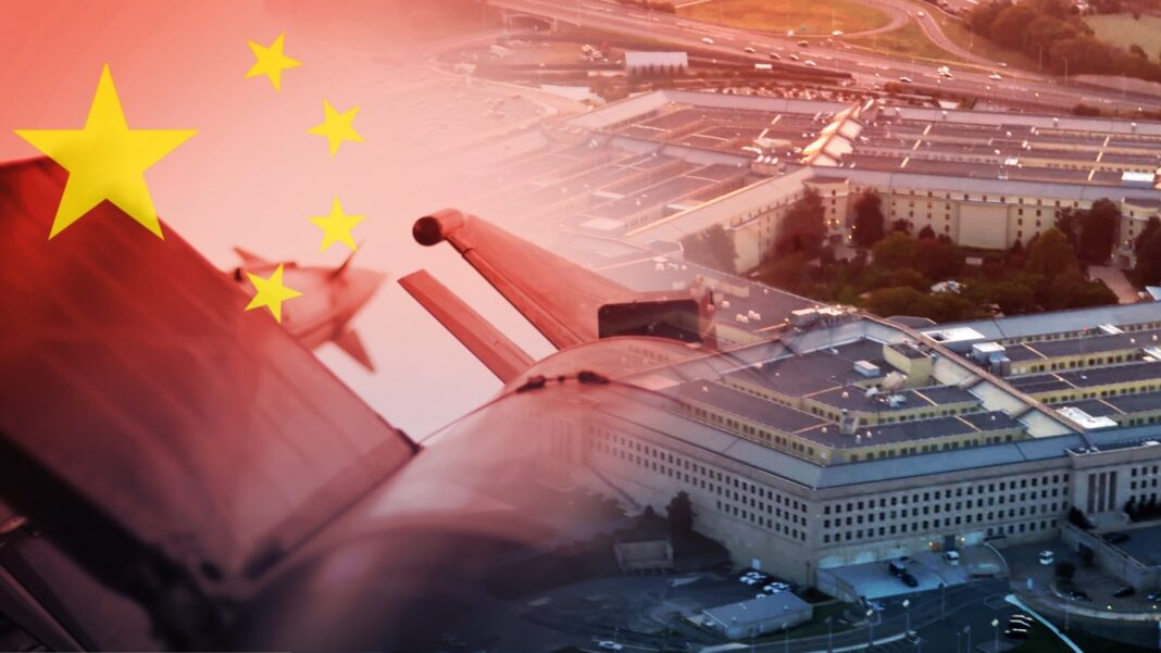 China, Pentagon