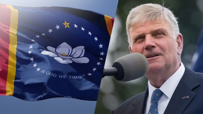 Franklin Graham, Mississippi New Flag