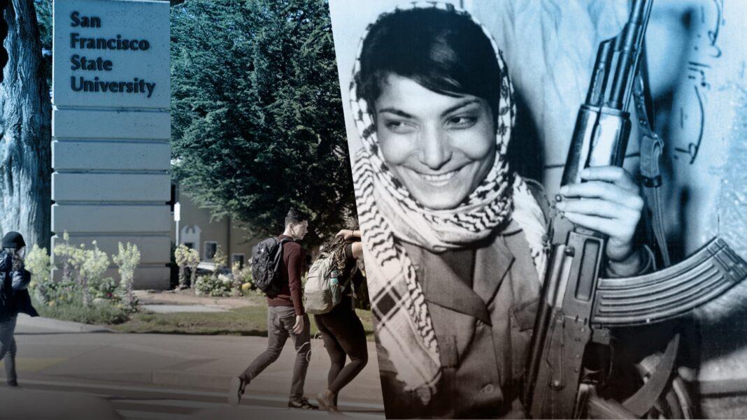 San Francisco State University, Terrorist Leila Khaled