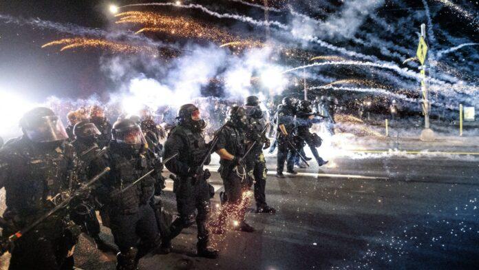 Portland Protests, Rioting, Police