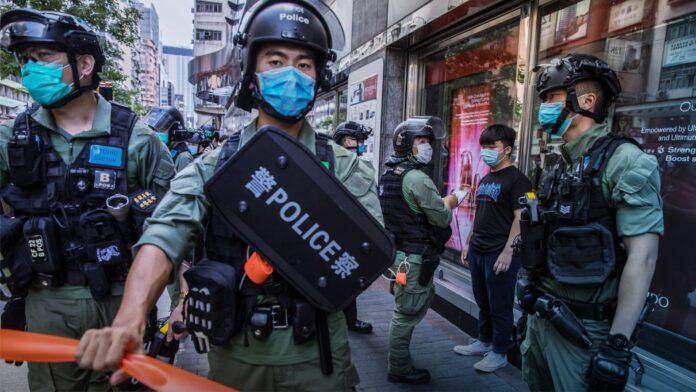 Hong Kong Protests, Police