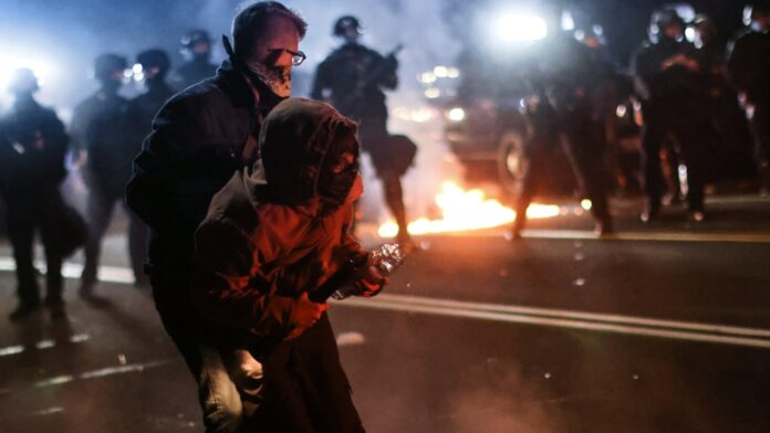 Portland rioting