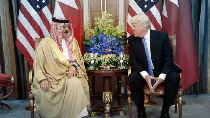 United states, Trump, Bahrain