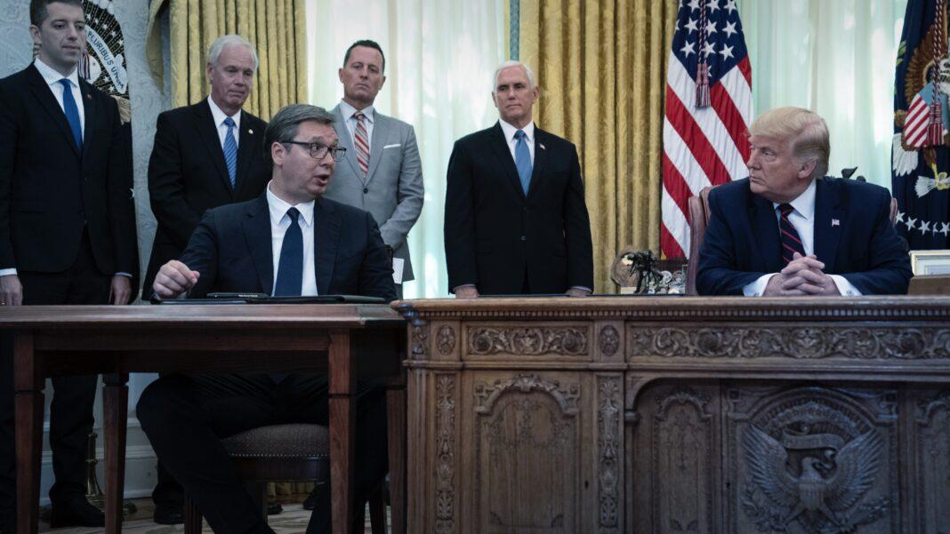 Trump Administration, Serbia